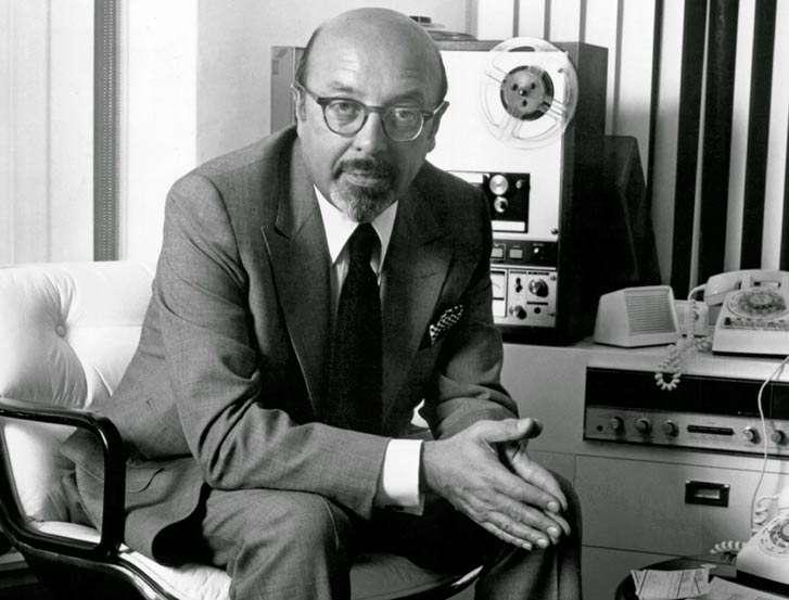 Ahmet Ertegün (Músico y productor / Fundador del Salón de la Fama del Rock and Roll)