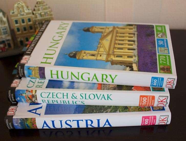 Guías de viaje centro europa (Austria, Hungría y Eslovaquia)