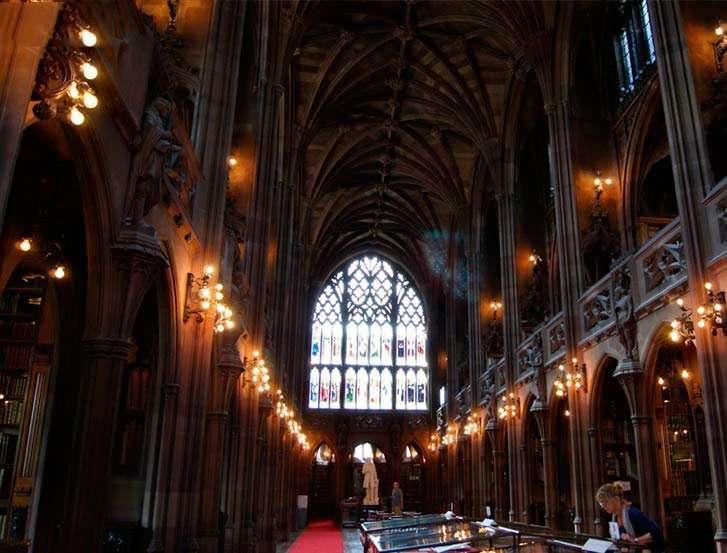 John Rylands Biblioteca Manchester