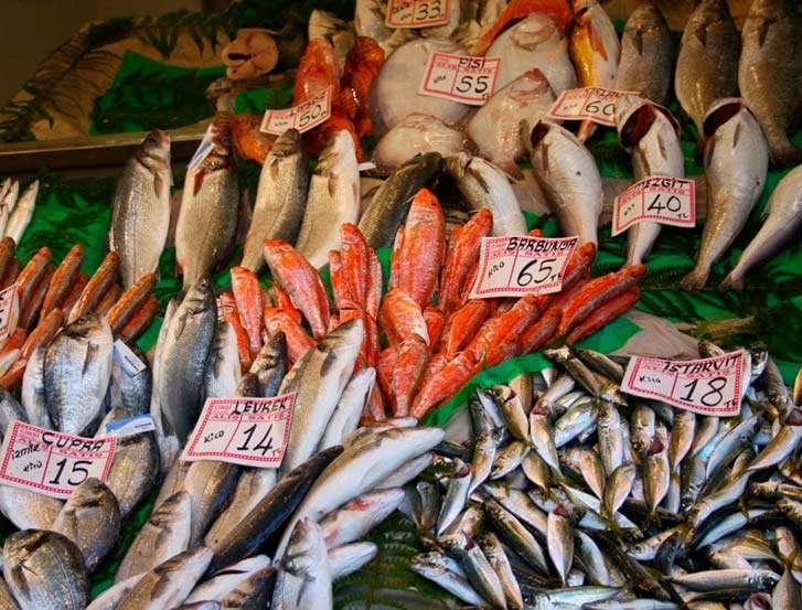 Mercados de pescados