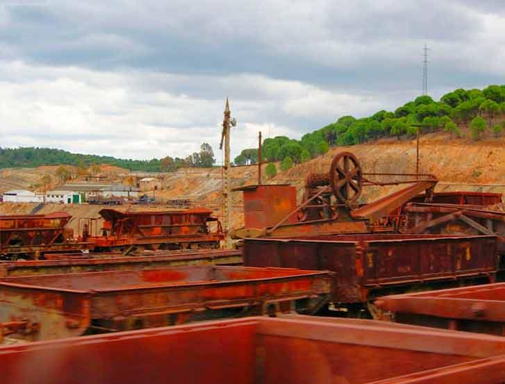 Parque minero de Río Tinto (Huelva)