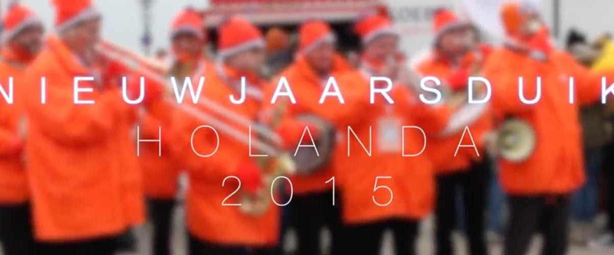 Nieuwjaarsduik, la zambullida holandesa