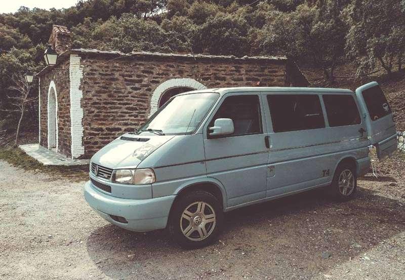 Guía de Alpujarra Granadina en furgoneta