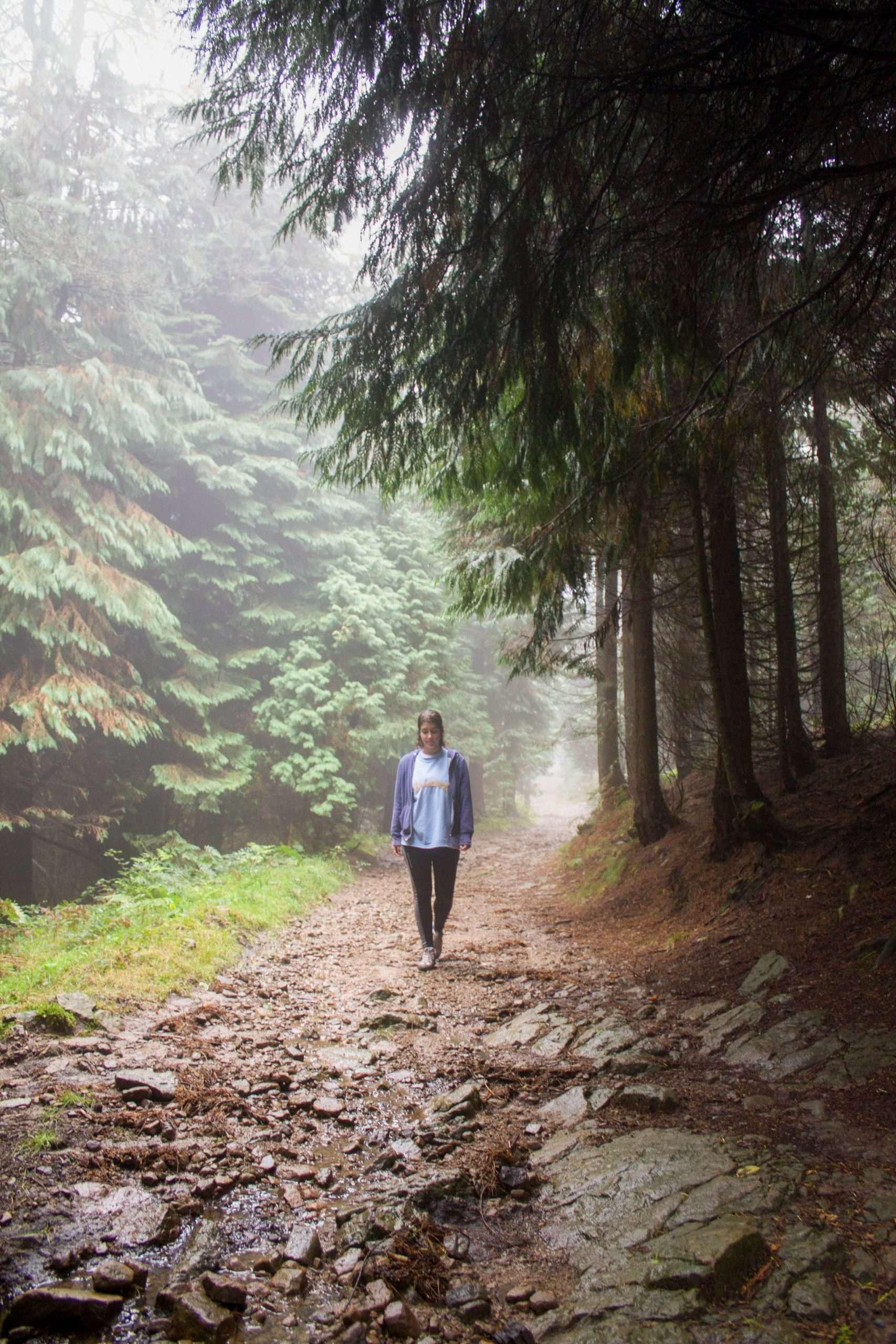 rutas en el parque natural de urkiola