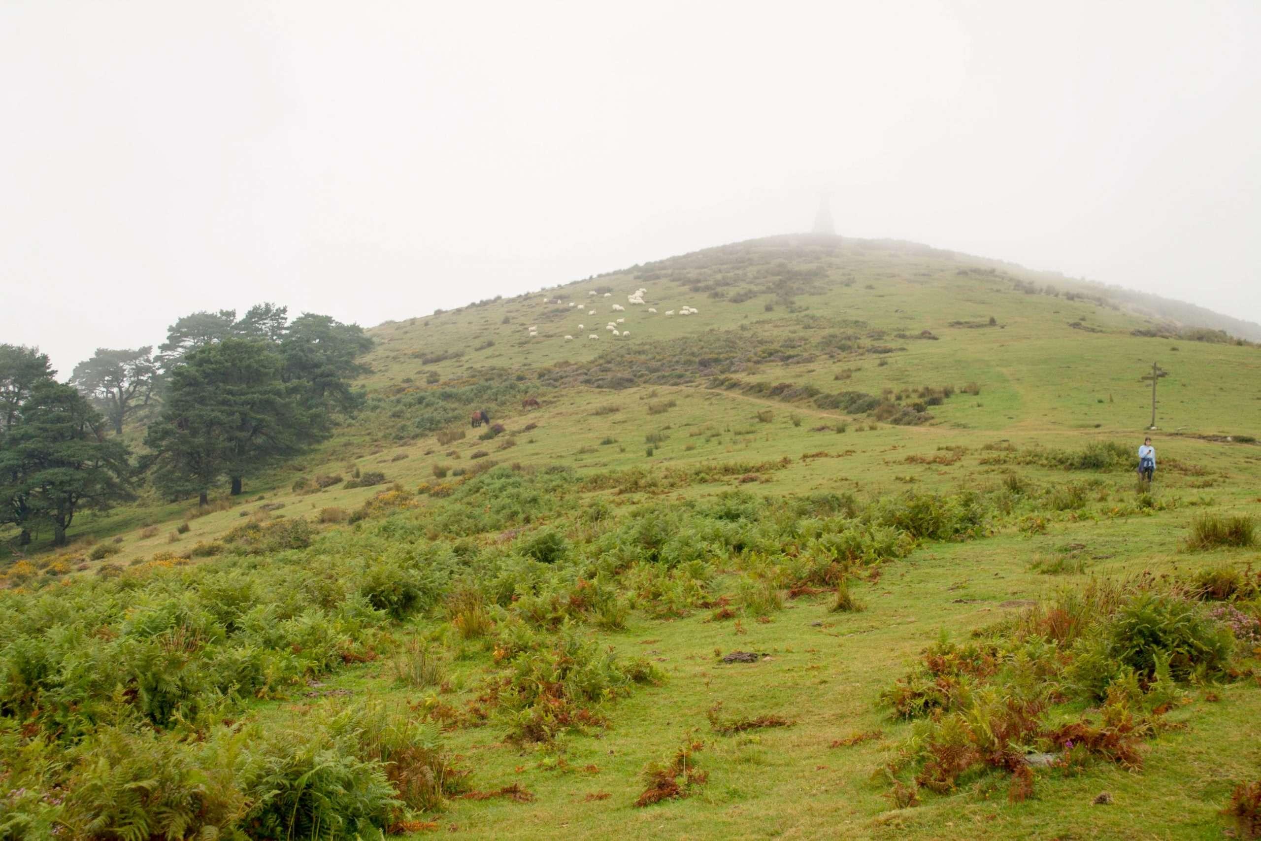 subida al monte saibi sendero