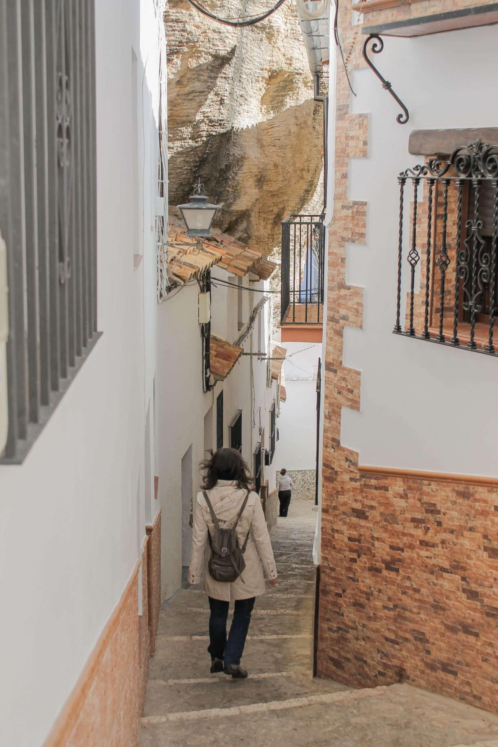 calle roca setenil de las bodegas