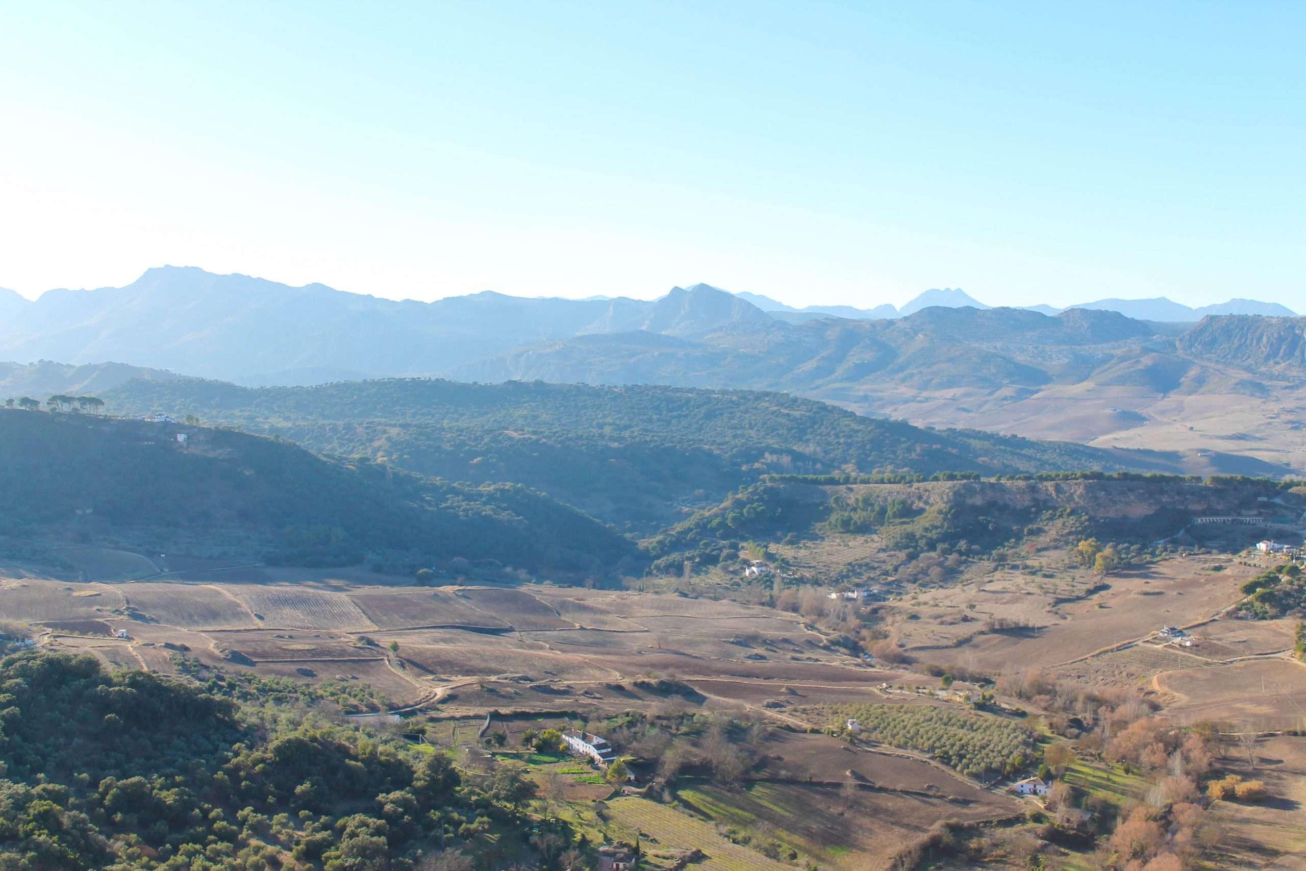paisaje que rodea Ronda