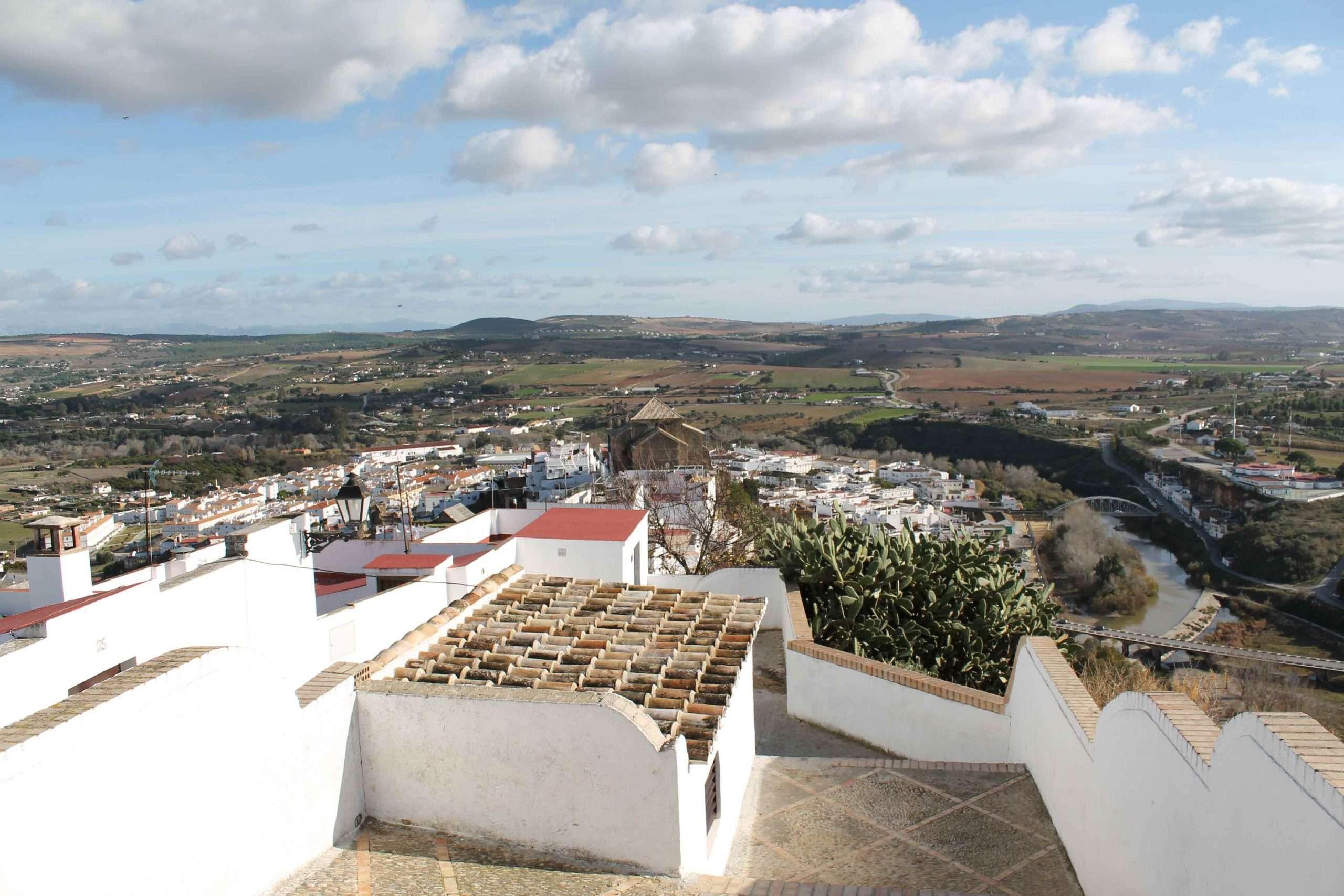 vista panoramica arcos de la frontera