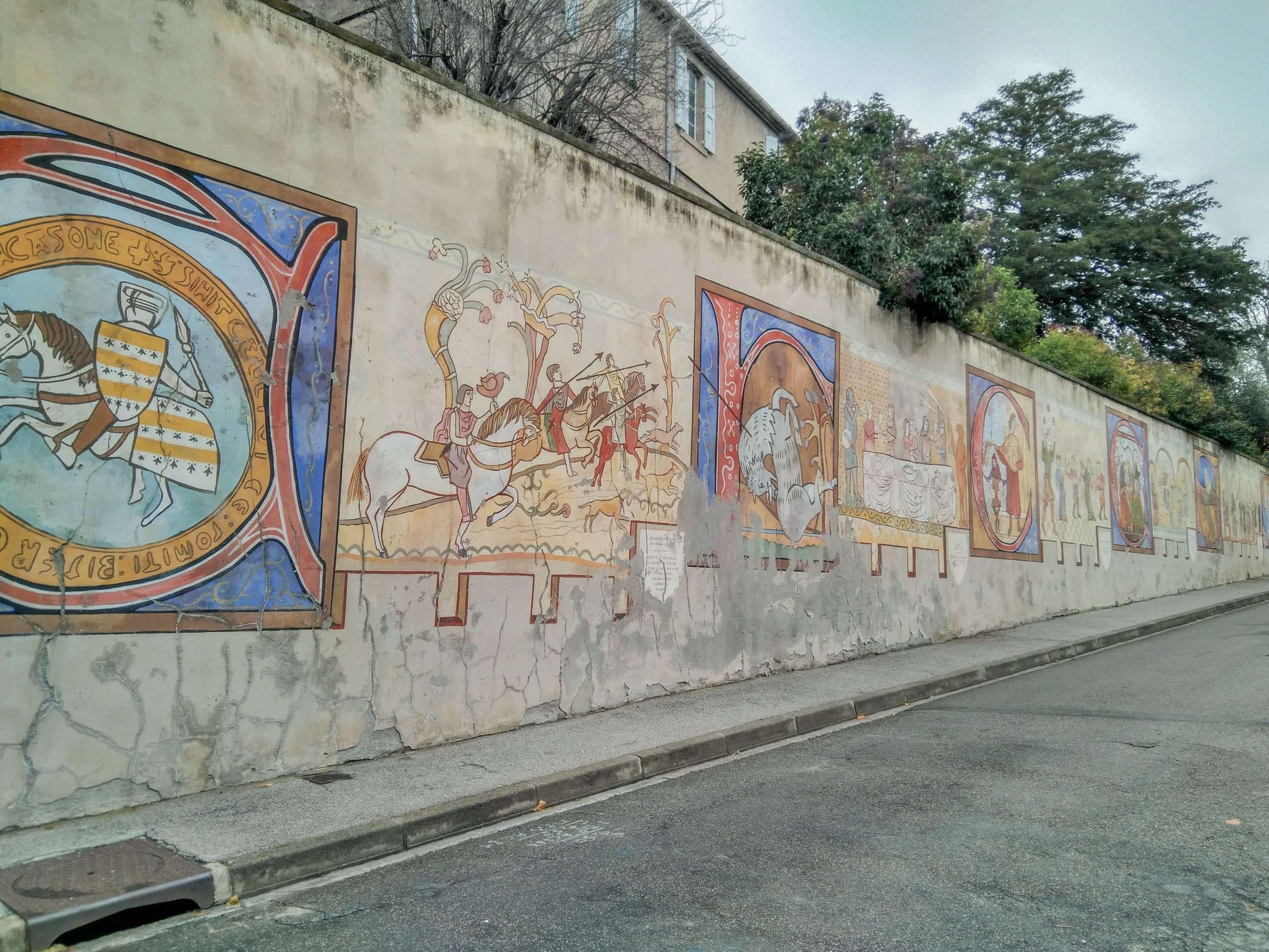 pinturas batallas carcassonne