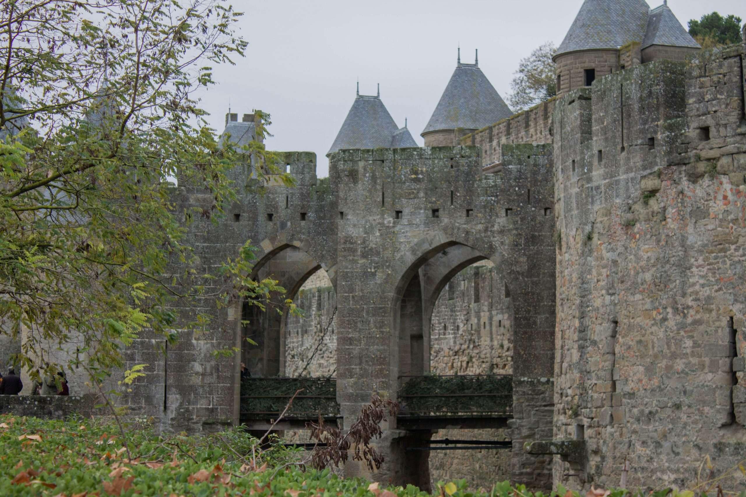 puertas a la ciudadela carcassonne