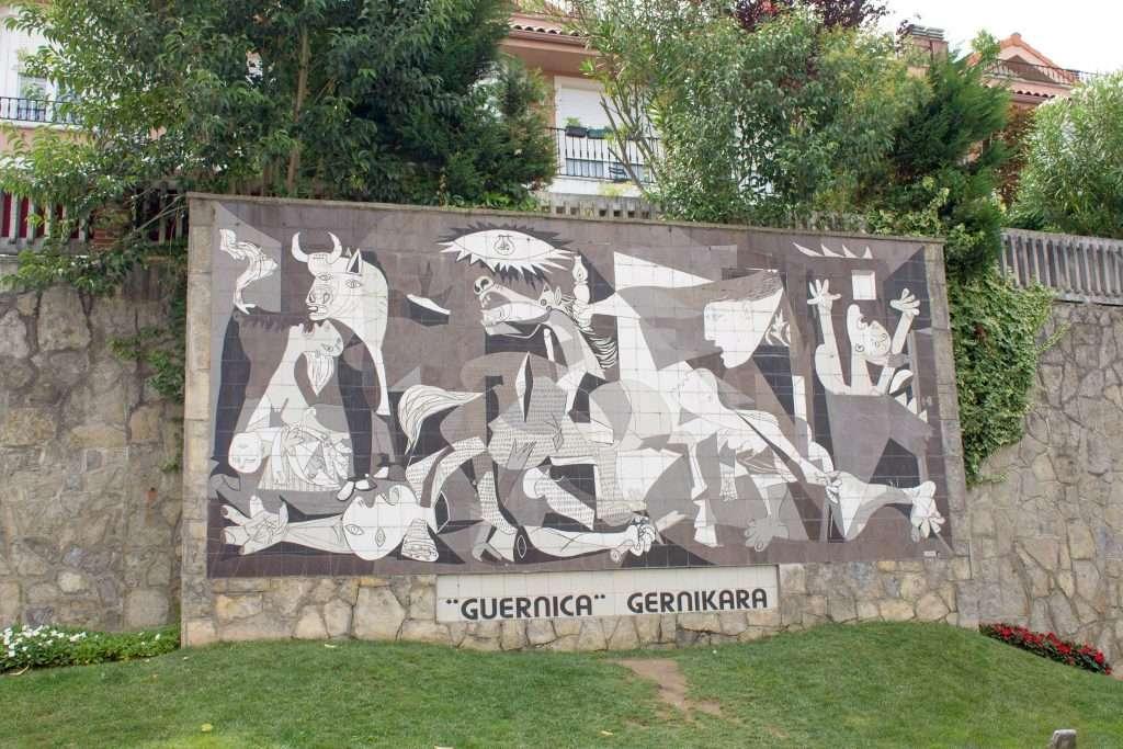 Mural Guernica Pablo Picasso